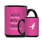 Full Color Black Mug 15oz-Walk Run Finish