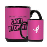 Full Color Black Mug 15oz-Cant Stop Me