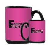 Full Color Black Mug 15oz-Forever Fighter