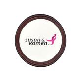 Round Coaster Frame w/Insert-Susan G. Komen
