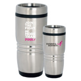 Rolling Ridges Silver Stainless Tumbler-Join The Fight.