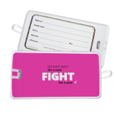 Luggage Tag-Fight For A Cure