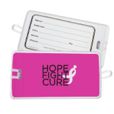 Luggage Tag-Hope Fight Cure
