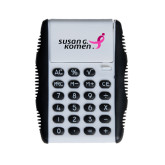 White Flip Cover Calculator-Susan G. Komen