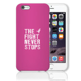 iPhone 6 Plus Phone Case-The Fight Never Stops Distressed