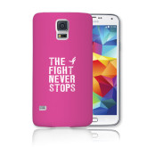 Galaxy S5 Phone Case-The Fight Never Stops Distressed