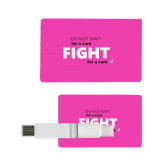Card USB Drive 4GB-Fight For A Cure