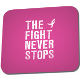 Full Color Mousepad-The Fight Never Stops Distressed