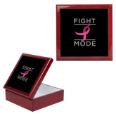 Red Mahogany Accessory Box With 6 x 6 Tile-Fight Mode