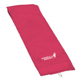 Pink Raspberry Golf Towel-Susan G. Komen