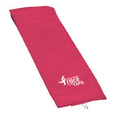 Pink Raspberry Golf Towel-Susan G. Komen Race for the Cure