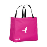 Tropical Pink Essential Tote-Ribbon