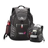 High Sierra Big Wig Black Compu Backpack-Susan G. Komen