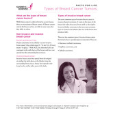 Facts for Life Types of Breast Cancer Tumors 50/pkg-