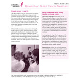 Facts for Life Research on Breast Cancer Treatment 50/pkg-