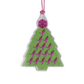 Acrylic Die Cut Tree Ornament-