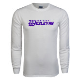 White Long Sleeve T Shirt-Kentucky Wesleyan