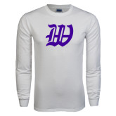 White Long Sleeve T Shirt-W