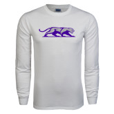 White Long Sleeve T Shirt-Panther