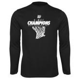 Syntrel Performance Black Longsleeve Shirt-G-MAC Champions - Mens Basketball 2017 Net