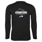 Syntrel Performance Black Longsleeve Shirt-2017 GMAC Baseball Champions 2017