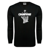 Black Long Sleeve T Shirt-G-MAC Champions - Mens Basketball 2017 Net