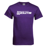 Purple T Shirt-Kentucky Wesleyan