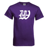 Purple T Shirt-W