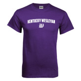 Purple T Shirt-Arched Kentucky Wesleyan