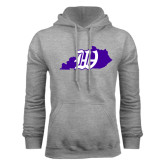Grey Fleece Hoodie-Kentucky W