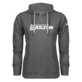 Adidas Climawarm Charcoal Team Issue Hoodie-Kentucky Wesleyan