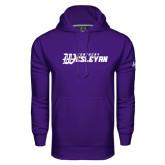 Under Armour Purple Performance Sweats Team Hoodie-Kentucky Wesleyan