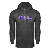 Under Armour Carbon Performance Sweats Team Hoodie-Primary Logo