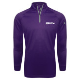 Under Armour Purple Tech 1/4 Zip Performance Shirt-Kentucky Wesleyan