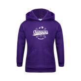 Youth Purple Fleece Hoodie-GMAC Baseball Champions 2017