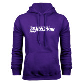 Purple Fleece Hoodie-Kentucky Wesleyan