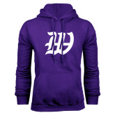 Purple Fleece Hoodie-W