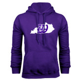 Purple Fleece Hoodie-Kentucky W