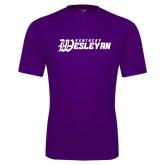 Syntrel Performance Purple Tee-Kentucky Wesleyan