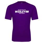 Syntrel Performance Purple Tee-Football
