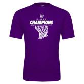 Syntrel Performance Purple Tee-G-MAC Champions - Mens Basketball 2017 Net
