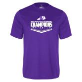 Syntrel Performance Purple Tee-GMAC Softball Champions 2017 Plate