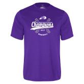 Syntrel Performance Purple Tee-GMAC Baseball Champions 2017