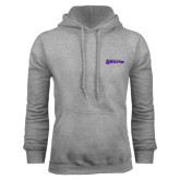 Grey Fleece Hoodie-Kentucky Wesleyan