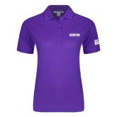 Ladies Easycare Purple Pique Polo-2017 G-MAC Champions Mens Basketball