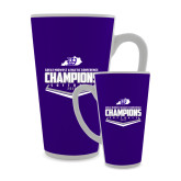 Full Color Latte Mug 17oz-GMAC Softball Champions 2017 Plate
