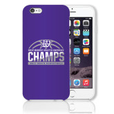 iPhone 6 Plus Phone Case-Great Midwest Athletic Conference Champs - 2017 Mens Basketball Half Ball