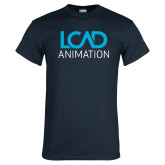 Navy T Shirt-Animation