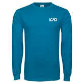 Sapphire Long Sleeve T Shirt-Primary Mark