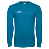 Sapphire Long Sleeve T Shirt-Centered Lock Up